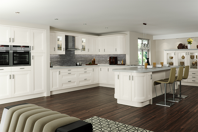 Oakleaf cabinet makers kitchens for Shaker style kitchen modern